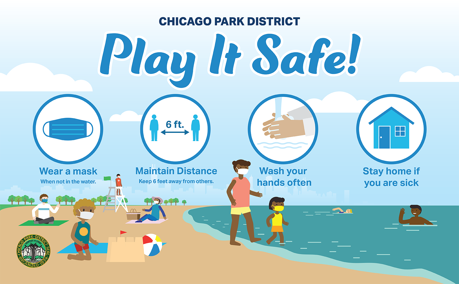 Play it Safe at the Beach